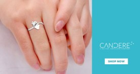 Candere Flat 30% OFF on Making Charge on Platinum Jewellery