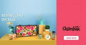 Chumbak Amazing Deal At Chumbak : Upto 30% OFF on Women's Clothing & Accessories