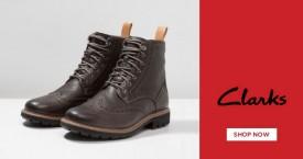 Clarks Best Deal : Men's Footwear Upto 40% Off