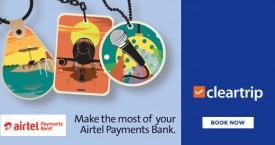 Cleartrip Airtel Payments Bank Offer : Grab 10% Cashback on Cleartrip Activities, Flights And Hotels