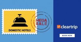 Cleartrip Cleartrip Festive Sale : Get 30% Cashback Upto Rs.3000 on Domestic Hotels