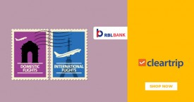 Cleartrip RBL Bank Credit Card Offers - Upto Rs.1500 Instant Cashback on Flights