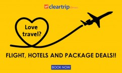 Cleartrip Exclusive Offers : Flight, Hotels and Package Deals!! Book Now.