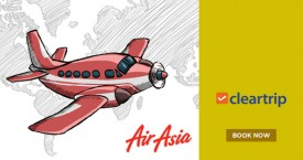 Cleartrip Air Asia Sale! Domestic fares starting at Rs. 999*