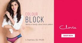 Clovia 5 Panties For Rs. 599