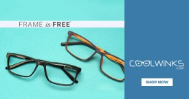 Coolwinks Pay For Lenses & Get Frame Free