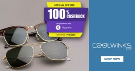 Coolwinks Upto 35% OFF - Men's Sunglasses