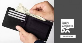 Dailyobjects Mega Deal : Leather Classic Billfold Wallet From Rs. 699