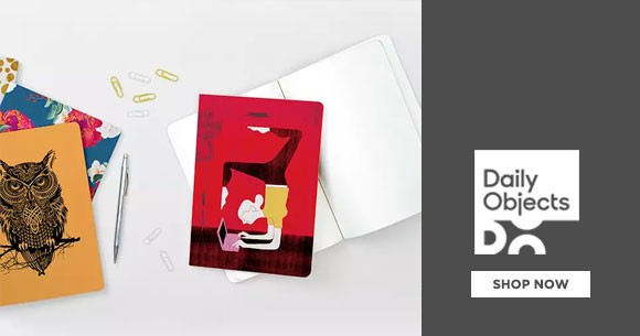 Dailyobjects Exclusive : Notebooks Prices from Rs. 299