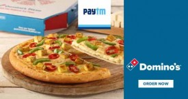 Dominos pizza Paytm Offer : Order Twice Through Paytm And Get Rs.125 Cashback