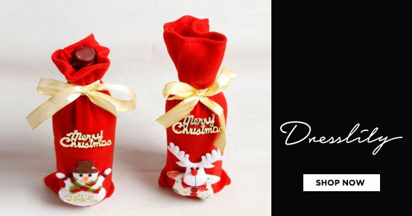 Dresslily Offer : Festive And Party Supplies - Upto 40% OFF