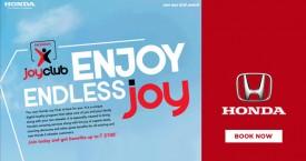 Honda cars india Join Honda Joy Club Membership & Get Benefit Upto Rs. 2100*