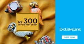 Exclusivelane Signup Offer : Get Rs. 300 OFF on First Order