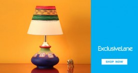 Exclusivelane Best Price : Get Upto 25% OFF on Table Lamps