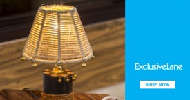 Exclusivelane Best Offer : Table Lamps Upto 20% OFF