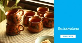 Exclusivelane Best Price : Upto 50% OFF on Coffee And Tea Cups