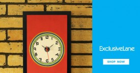 Exclusivelane Amazing Deal : Upto 20% OFF on Wall Clocks