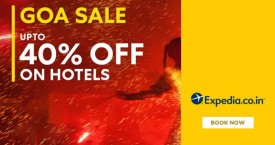 Expedia Great Hotel Deals For Goa : Upto 40% OFF on Hotels