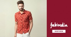 Fabindia Best Offer : Upto 60% Off on Men's Shirts