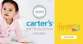 Firstcry Flat 40% OFF on Entire Carter's Range