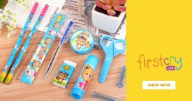 Firstcry Flat 25% Off on Books,CDs & School Supplies  on Orders Above Rs. 750