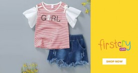 Firstcry Upto 20% OFF on Enfance: Baby Clothes & Shoes Products