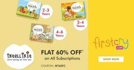 Firstcry Subscription Offer : Get Flat 60% OFF on All Subscriptions
