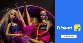 Flipkart Fabulous Offer : Upto 60% OFF on Barbie Toys