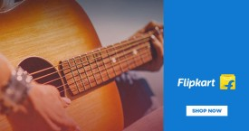 Flipkart Acoustic Guitars Starts At Rs. 2499