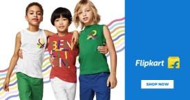 Flipkart United Colors of Benetton Kids Clothing