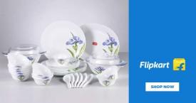Flipkart Upto 60% OFF on Crockery & Dinnerware