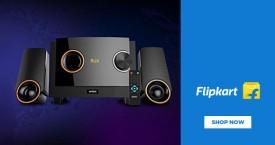 Flipkart Upto 60% OFF on Home Audio Speakers