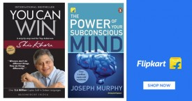 Flipkart  Flipkart Offer on Books - Upto 50% OFF Self Help Books