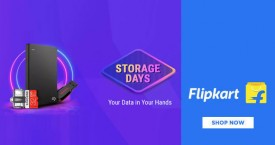 Flipkart Storage Days :  Upto 70% Off on Memory Cards, Pen Drives, Hard Disks