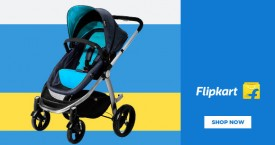 Flipkart Flipkart Offer : Baby Strollers & Activity Gear Upto 25% OFF