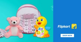 Flipkart Upto 20%  - 70% OFF on Toys And School Supplies