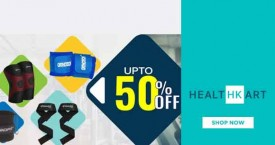Healthkart Hot Deal : Get Upto 50% OFF on Gym Supports From Healthkart