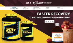 Healthkart Flat 50% Off on Healthkart Peanut Butter