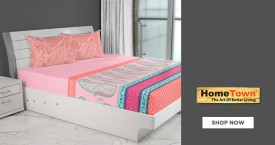 Home town Best Price : Bed Sheets Starts From Rs.599