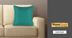 Home town Get Upto 75% OFF on Cushion Covers From Hometown