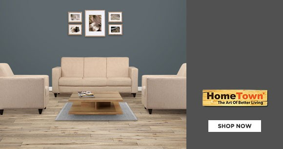 Upto 60% Off on Furniture + Extra 10% Off Coupon