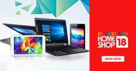 Homeshop18 Upto 50% OFF on Laptops & Tablets