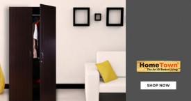 Home town Hot Deal : Get Upto 65% OFF on Wardrobes