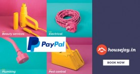 Housejoy Exclusive Offer : Save Upto 65% OFF on Repairs + 15% Instant Discount + 50% Cashback From Paypal