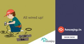 Housejoy Best Price : Plumbing/Electrical/Appliance Services Starts At Rs.150 + 50% Cashback From Paypal