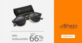 Ibhejo Great Deal : Men's Sunglasses Upto 66% Off