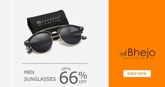 Great Deal : Men's Sunglasses Upto 66% OFF
