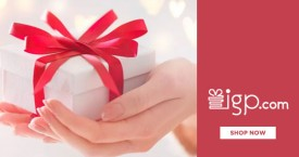 Indiangiftsportal IGP Offer : Sign-Up And Pay With Paypal And Get 50% Cashback on First Transaction