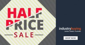 Industrybuying Extra 50% Off on Half Price Sale
