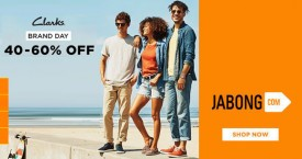Jabong Hot Deal : Upto 40% - 60% OFF on Clarks Casual Shoes, Flats & More